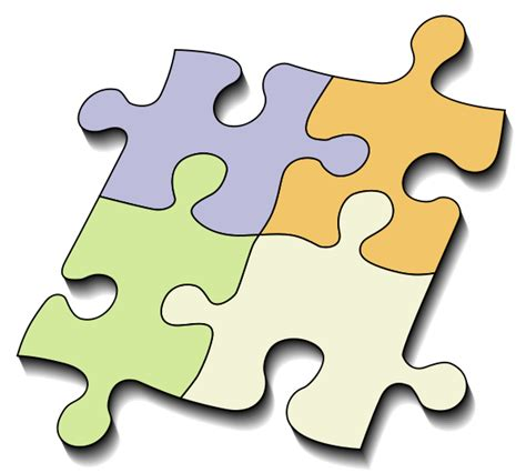 3 Piece Jigsaw Puzzle Template Cliparts Co 3 Puzzle Template
