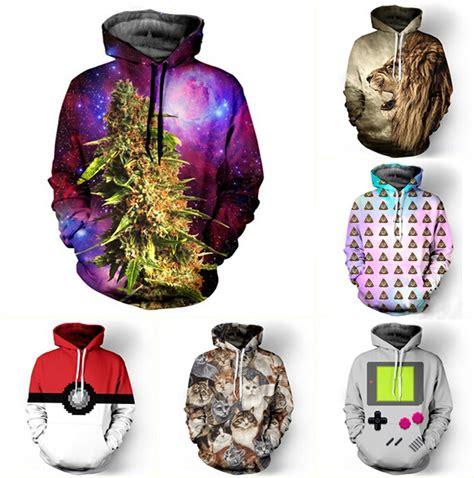 aliexpress hoodies drop shipping fashion 3d galaxy hoodies print hemp tiger