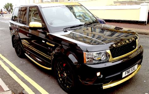 black and gold range rover range rover black autos post
