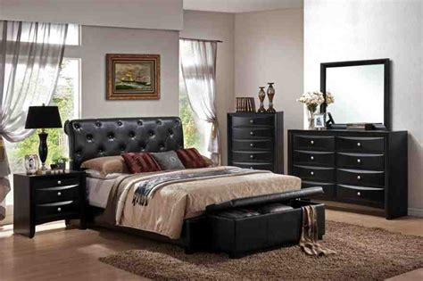 Black Leather Bedroom Set by Black Leather Bedroom Furniture Decor Ideasdecor Ideas