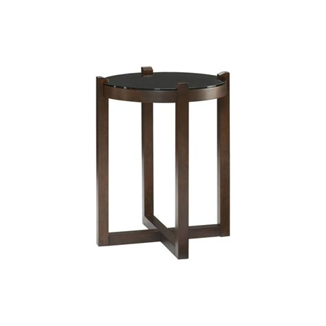 discount accent tables hammary 389 916 newbury round accent table discount