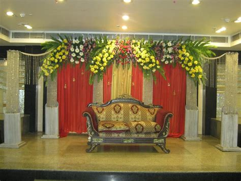 decoration and design bangalore stage decoration design 388 weddingokay com
