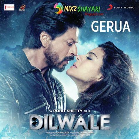 download mp3 free gerua gerua dilwale shah rukh khan kajol pritam full