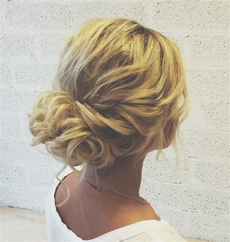how to do a messy updo with medium legnh thin hair 25 best ideas about loose curly updo on pinterest loose