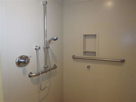 Bathroom Shower Grab Bars Ways Of You Bathtub Shower Safer And More Accessible Ideas 4 Homes