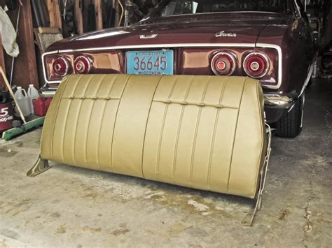 Corvair Seat Upholstery by Upholstery Stapler For Corvair Seats And Headliner