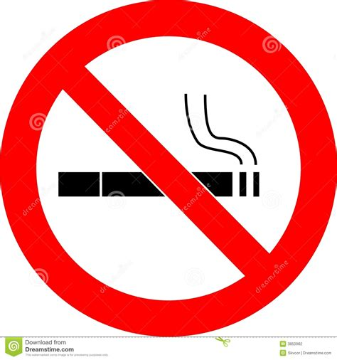 no smoking sign free vector no smoking sign vector stock photography image 3850982