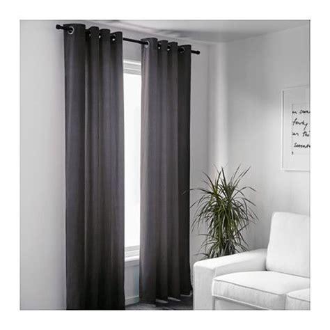 ikea gardinen stoffe gardinenpaar sanela grau gardinen und rollos