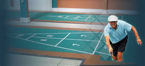 Floor Shuffleboard by Plastic Tile Shuffleboard Courts Duraplay Courts