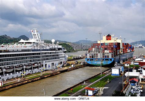 shipping boat to panama container shipping panama stock photos container