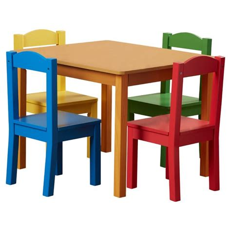 Childrens Wood Table And Chairs - table and chairs you ll wayfair