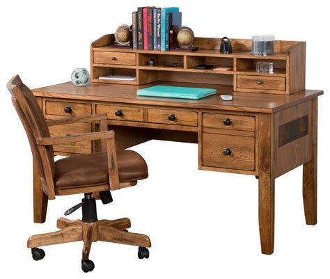 Writing Desks With Hutch Sedona Writing Desk With Hutch Traditional Desks And Hutches By Designs Inc