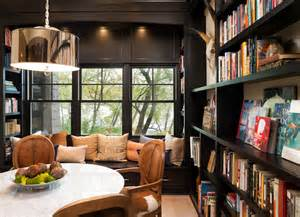 Den Design library and den design ideas stunning wood paneled library