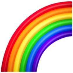 color emoji copy and paste rainbow emoji u 1f308