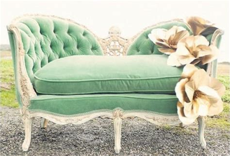 mint green sofa shabby wedding mint green 2057775 weddbook