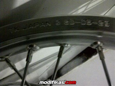 Velg 17 Tk Japan Rr for sale velg tk japan for rr masih baru ga jadi