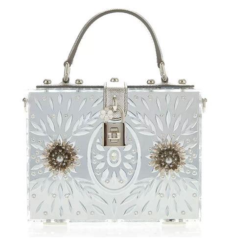 Dolce Gabbana 2008 Handbags Runway Review by Dolce Gabbana Plexi Embellished Dolce Bag Designer