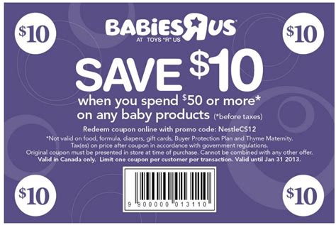 Check Gift Card Balance Babies R Us - babies r us and kids r us coupons valid and new 1