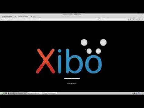 Xibo Android Tutorial | xibo 1 7 x layout mit text ticker layout with text
