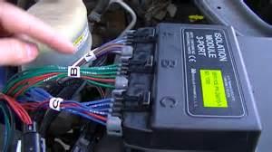 western mvp3 truck side wiring install on my 2002