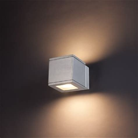 Up And Wall Sconce Rubix Outdoor Led Up And Wall Sconce By Wac Lighting