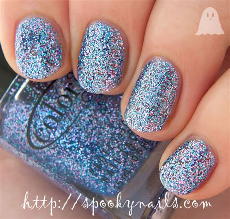 color club nail retailers color club jingle jangle blue green glitter beyond the