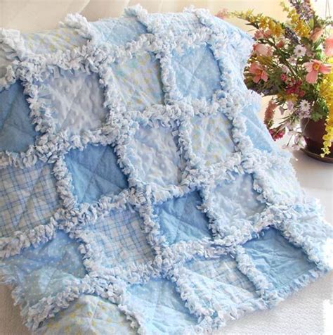 1000 ideas about baby rag quilts on rag quilt