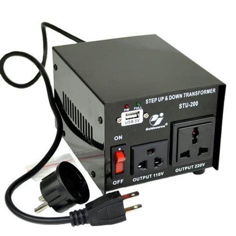 Step 220v 110 V 200 Watt goldsource stu 200 step up voltage transformer