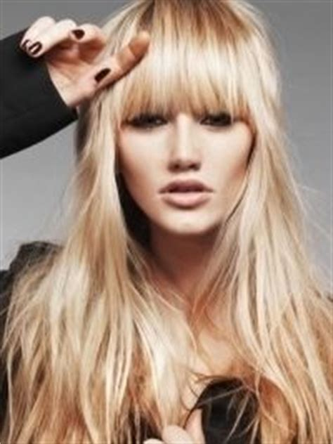 layered hairstyles for widows peak bangs and fringes nicheness on pinterest bangs side