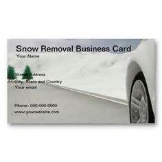 snow plow business card templates 1000 images about snow removal business cards on