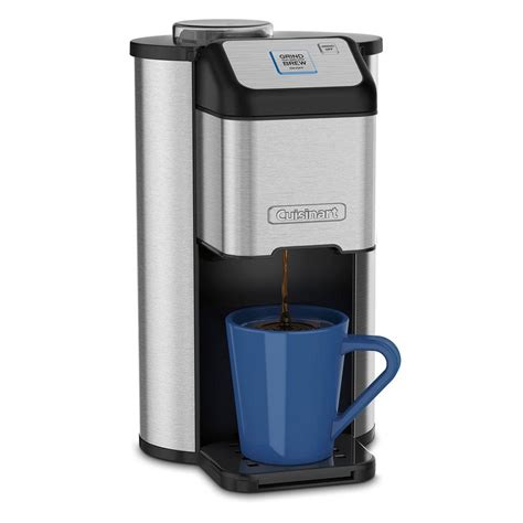 Cuisinart Grind and Brew Single Serve Coffee Maker DGB 1   The Home Depot