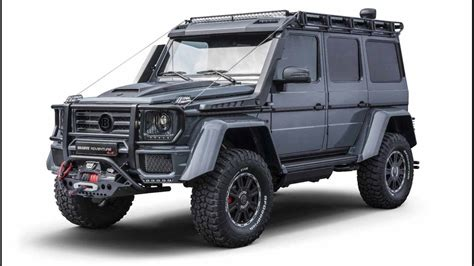 mercedes g class brabus brabus adventure 4x4 proves the mercedes g class is