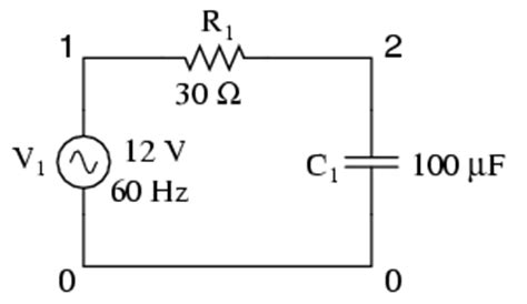 simple resistor capacitor circuit lessons in electric circuits volume v reference chapter 7