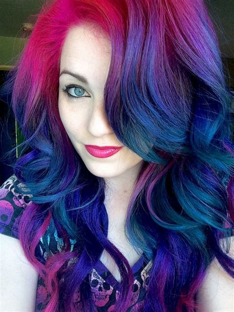 hairstyle dye hair pictures ursula s rainbow beauty launchpad