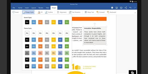 office android microsoft s new word excel and powerpoint android apps are now available to