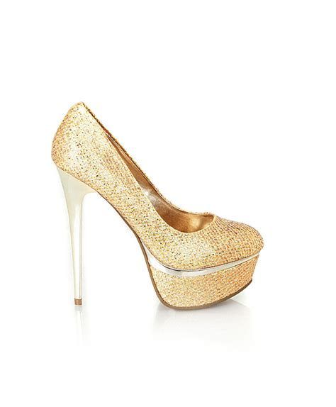 gold high heel all that glitters is gold high heels daily
