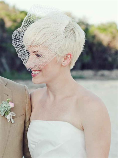Wedding Hairstyles Hair Birdcage Veil by 15 Beautiful Veiled Wedding Hairstyles