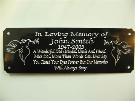 bench memorial plaques memorial benches and plaques just b cause