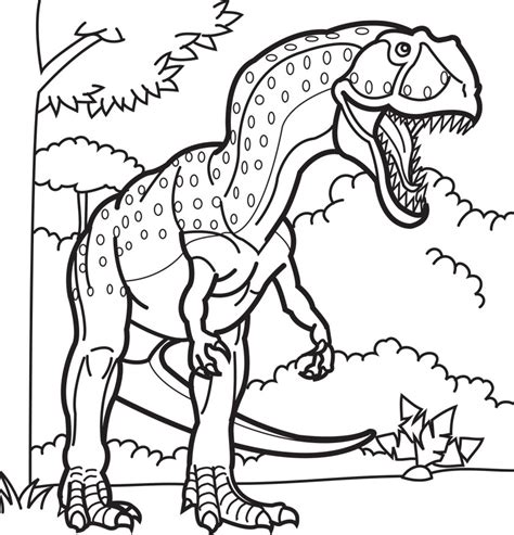free coloring pages of dinosaurs giganotosaurus coloring pages dinosaurs pictures and
