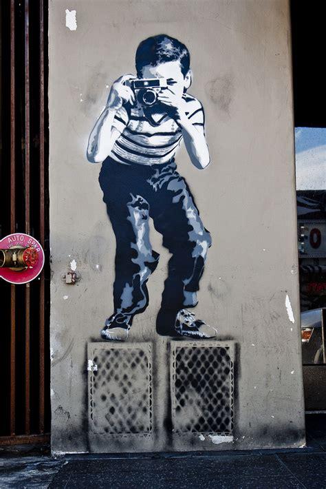brainwash paints banksy oscar stencil  la ba street art