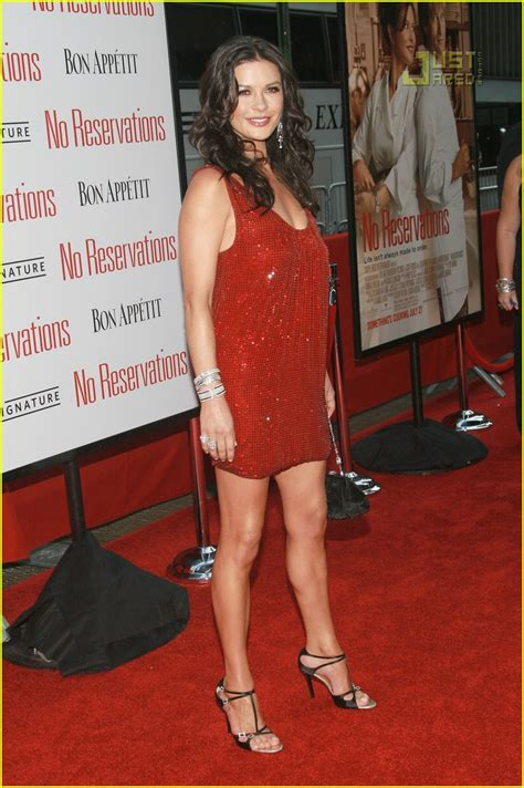 Catherine Zeta Jones In A Emanuel Ungaro Mini Dress At The No Reservations Premiere by Sized Photo Of Catherine Zeta Jones Ungaro Dress 01