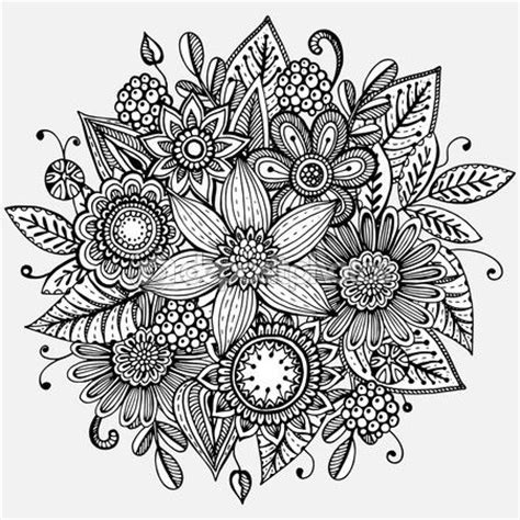 imagenes de flores dibujadas 17 mejores ideas sobre flores dibujadas a mano en