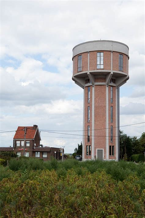 2 Car Garage Designs Old Belgian Water Tower Converted Into A Single Family Home