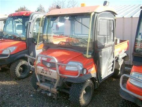 kubota side by side 4 wheeler railroad and maintenance of way heavy equipment for sale