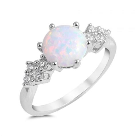 white opal 100 white opal sterling silver white opal layered