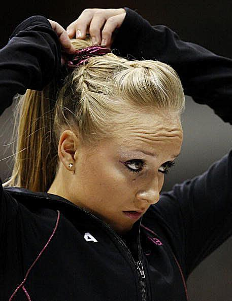 gymnast hairstyles nastia liukin gymnastics gallery pictures of gymnast