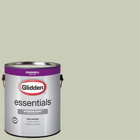 glidden essentials 1 gal hdgg49 soft eggshell interior paint hdgg49e 01en the home depot
