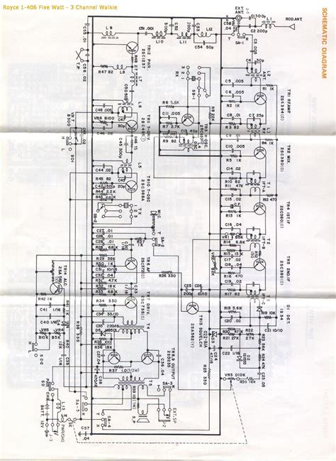 cb walkie talkie schematic circuit diagram to make a
