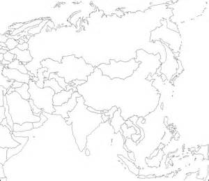 Asia Blank Map by Blank Map Of Asia By Zalezsky On Deviantart