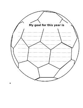 soccer goal setting worksheet goal setting soccer by kelli casey teachers pay teachers